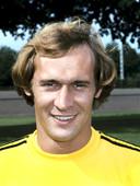 Portret uit 1978 van PSV-keeper Jan van Beveren.