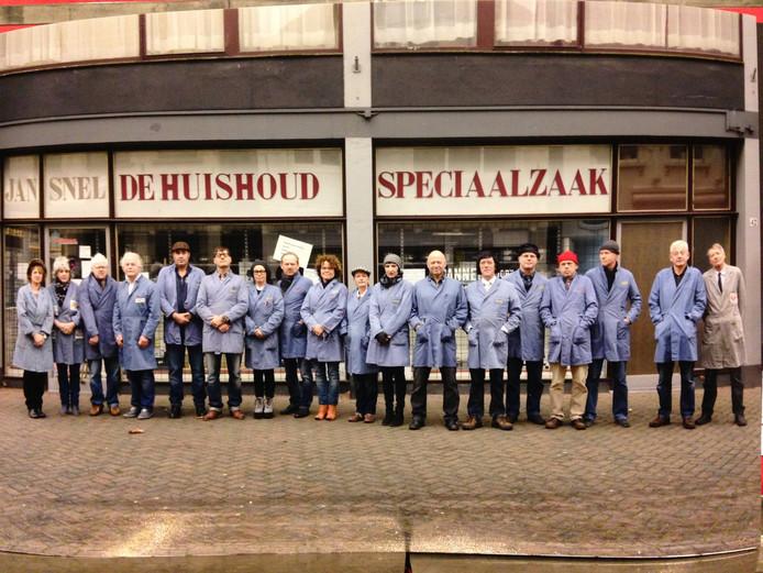 De Roosendaalse zeulband Jan Snel Kapel.