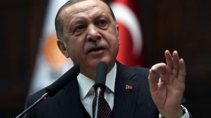 """Erdogan noemt Turkije """"lichtend voorbeeld voor persvrijheid"""""""