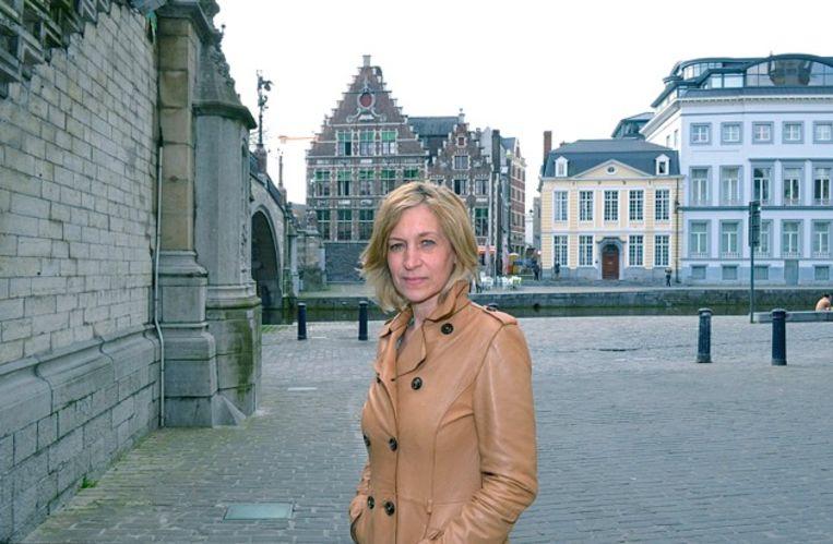 Schrijfster Belinda Aebi situeert haar nieuwste thriller ook in Gent.