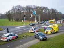 Twee gewonden bij kettingbotsing in Wezep