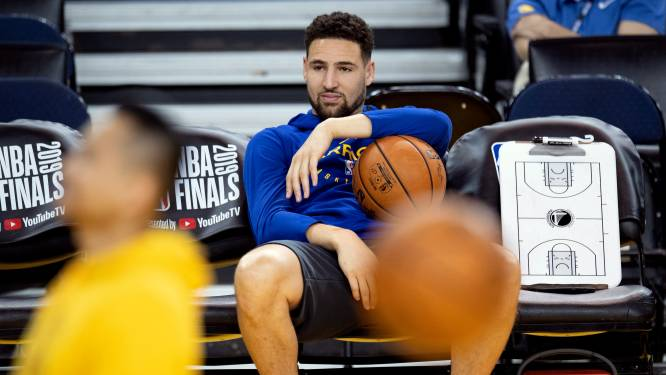 Achillespeesblessure houdt Klay Thompson ook komend seizoen van NBA-parket