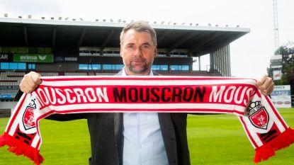 """Nieuwe trainer van Moeskroen spreekt alleen Duits en... """"de voetbaltaal"""""""