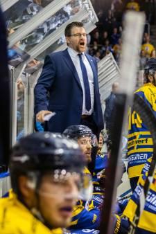 Tilburg Trappers-coach Bo Subr is ingetogen tevreden
