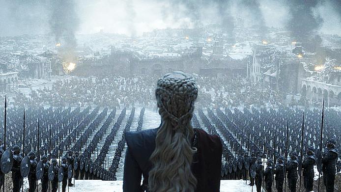 """Une scène du dernier épisode de """"Game of Thrones."""""""