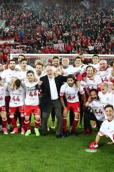 Olympiakos raakt landstitel mogelijk kwijt
