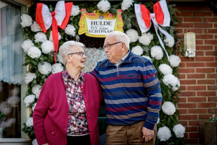 Appie en Gerri  zijn al 65 jaar gelukkig getrouwd.