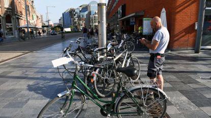 Politie haalt foutief gestalde fietsen op voor Werchter Boutique