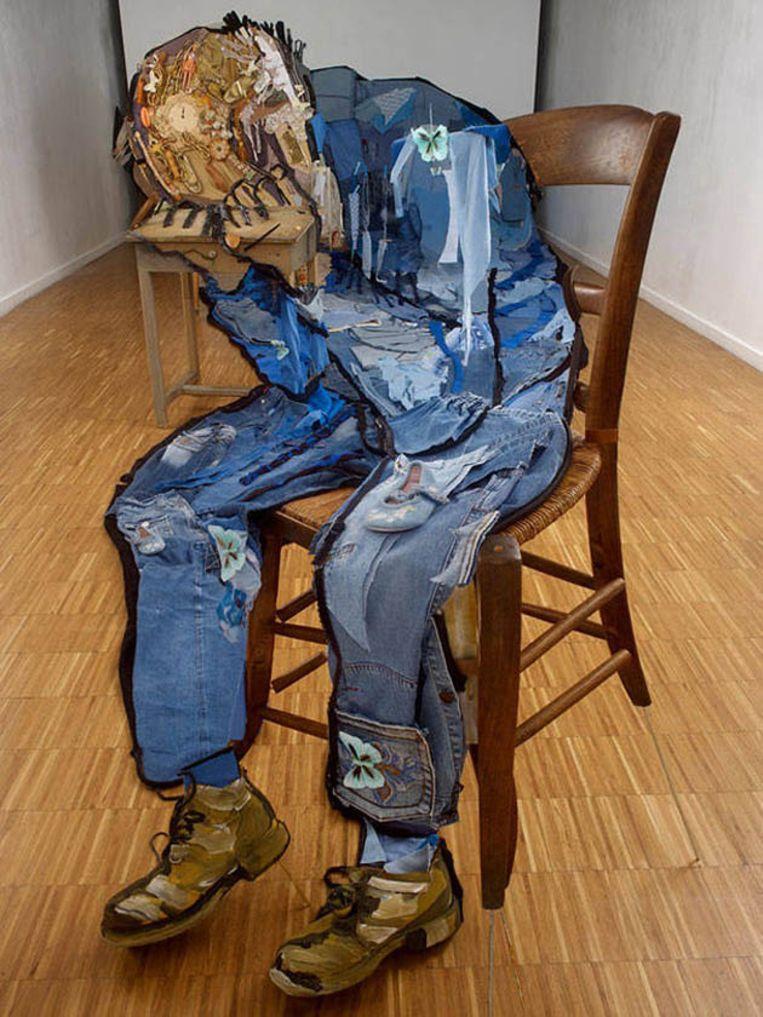 'Treurende Oude Man' van Vincent Van Gogh