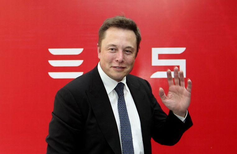Tesla-CEO Elon Musk Beeld reuters