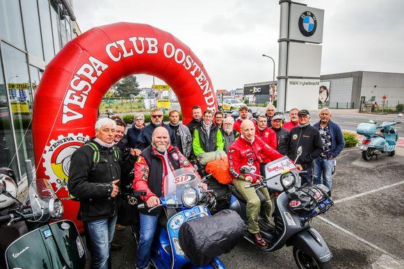 Mag Vespa Club Oostende straks het grootste treffen ter wereld organiseren?