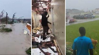 """Orkaan Dorian afgezwakt tot categorie 4 maar nog """"extreem gevaarlijk"""": """"13.000 huizen zwaar beschadigd of vernietigd"""", één luchthaven in Florida gesloten"""