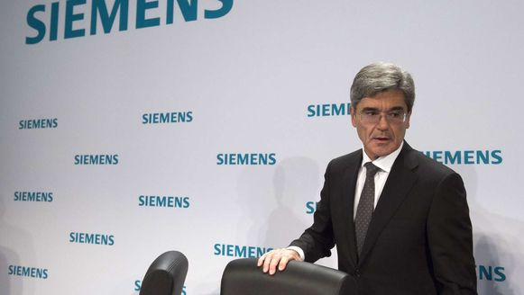 Joe Kaeser, CEO van Siemens.