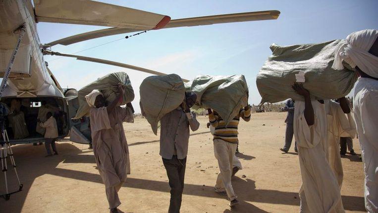 Ontwikkelingshulp in Darfur Beeld ANP