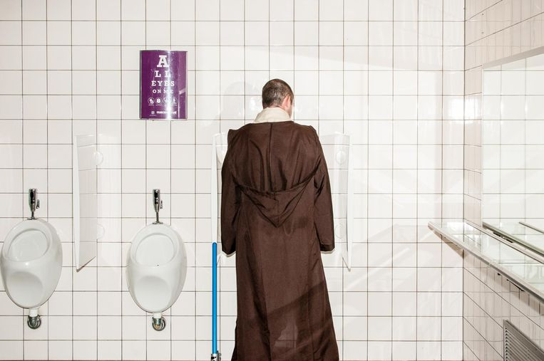 Jedi op de wc. Beeld Jan Mulders