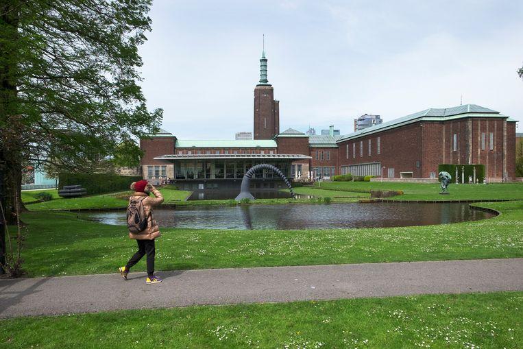 Het Rotterdamse Museum Boijmans van Beuningen wordt grondig verbouwd. Beeld Hollandse Hoogte, Hans van Rhoon