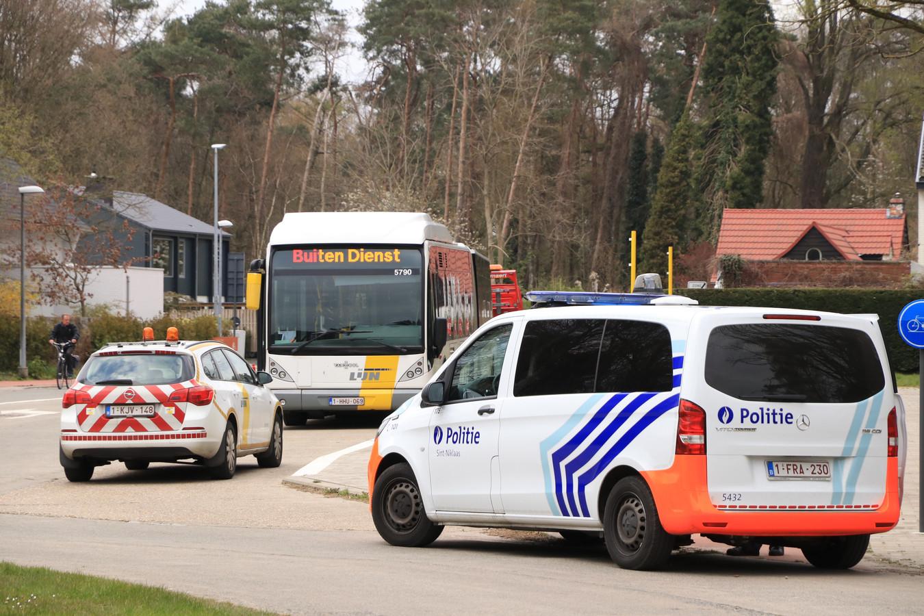 Het incident gebeurde in Sint-Niklaas, een provinciestad tussen Gent en Antwerpen.