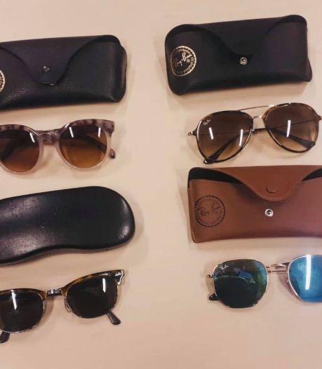 Fietsendieven met gestolen zonnebrillen op zak opgepakt door Nijmeegse politie