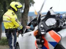 Zeven bestuurders bekeurd na controle bij wegwerkzaamheden