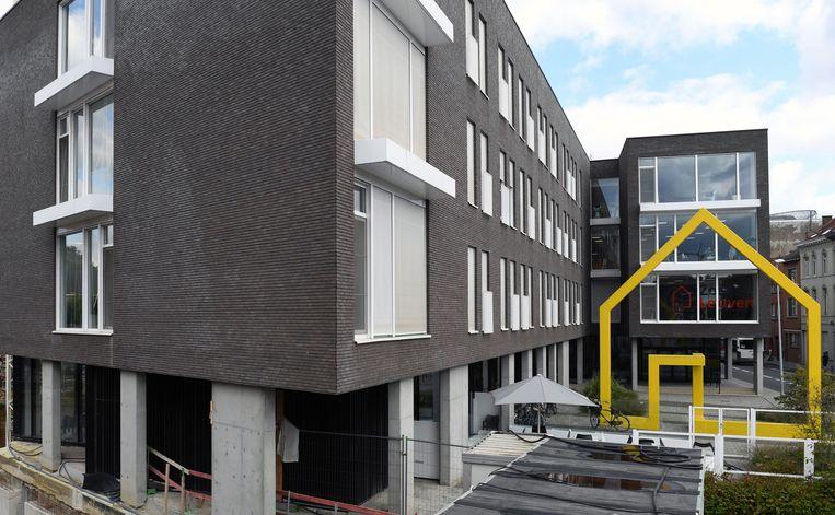 Woonzorgcentrum Remy Edouard in Leuven, waar de 72 bewoners van woonzorgcentrum Booghuys momenteel verblijven in afwachting van de nieuwbouw.