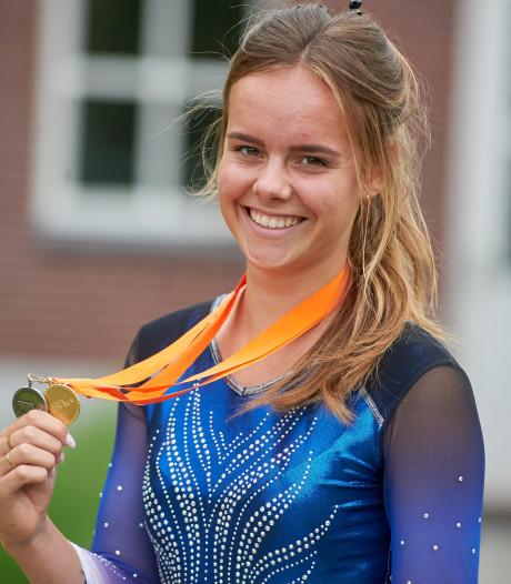 Steeds stapje hoger op trampoline voor Anke Broers