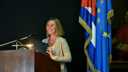"""EU wil """"bruggen bouwen"""" met Cuba en bekritiseert isolationistisch beleid"""