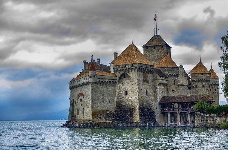 Chateau de Chillon in Zwitserland.