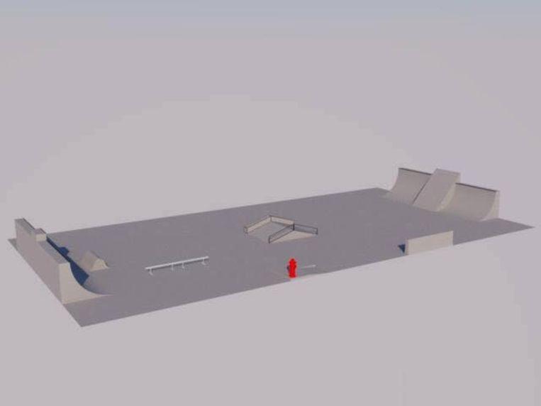 Met dit 3D-voorstel willen Dido en LONT aan de slag gaan.