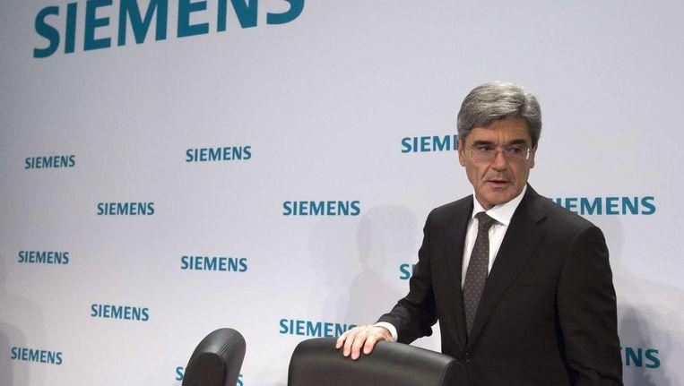 Joe Kaeser, CEO van Siemens.