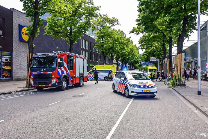 Het ongeluk gebeurde op de Bosscheweg in Tilburg.