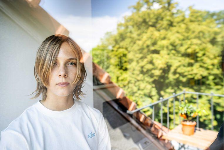Portret van schrijver Marieke Lucas Rijneveld.  Beeld ANP