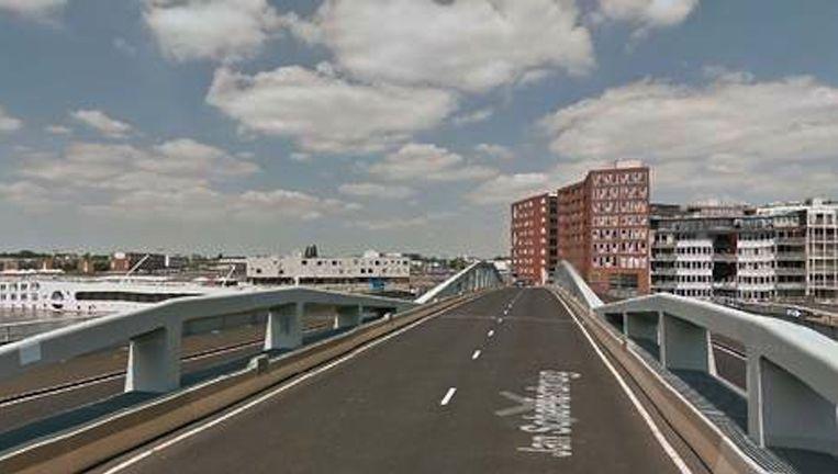 De Jan Schaeferbrug Beeld Google Street View
