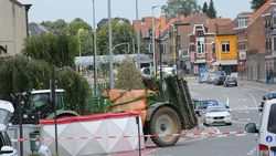 Handbiker sterft onder wielen tractor