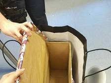 Tassen met 'kadootjes' zitten vol gestolen spullen