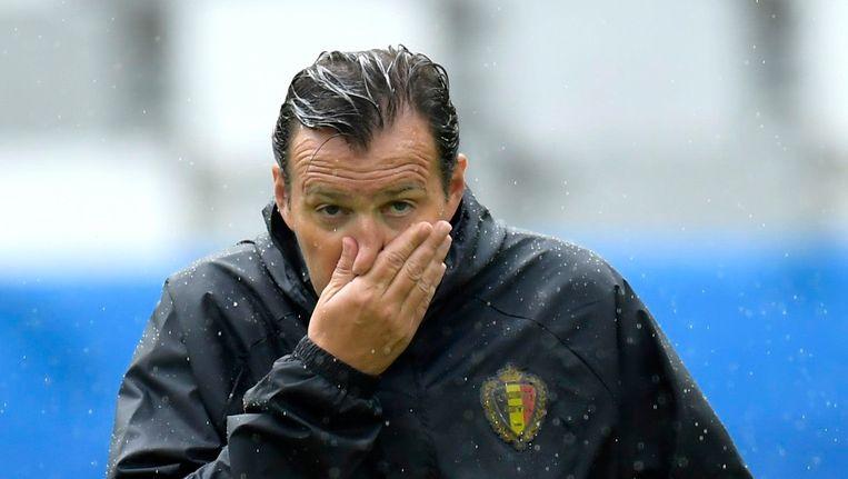 De bondscoach voert wel drie wijzigingen door: Fellaini, Nainggolan en Ciman verdwijnen uit de basis