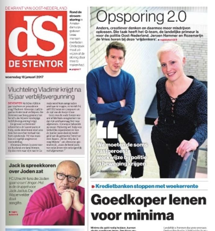 Afbeeldingsresultaat voor de stentor nederland cover