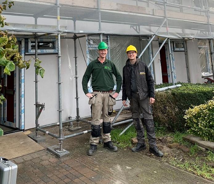 Maarten Mengerink (l) en Luuk Oolthuis.