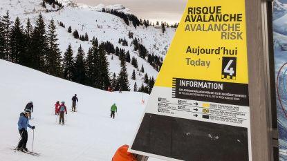 """Code rood in Savoie na """"uitzonderlijke sneeuwval die maar eens om de 30 jaar voorkomt"""""""