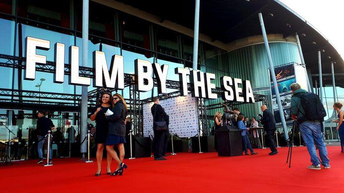 Entree van Film by the Sea tijdens de editie van vorig jaar.