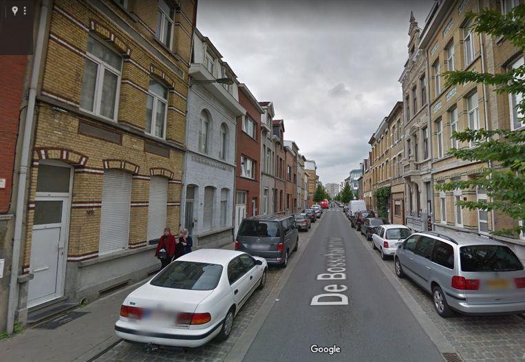 De De Bosschaertstraat aan het Kiel in Antwerpen.
