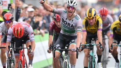 Sam Bennett sprint na chaotische etappe naar de zege in eerste etappe BinckBank Tour