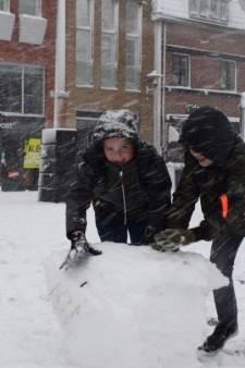 Precies één jaar geleden: hevige sneeuwval in Woerden