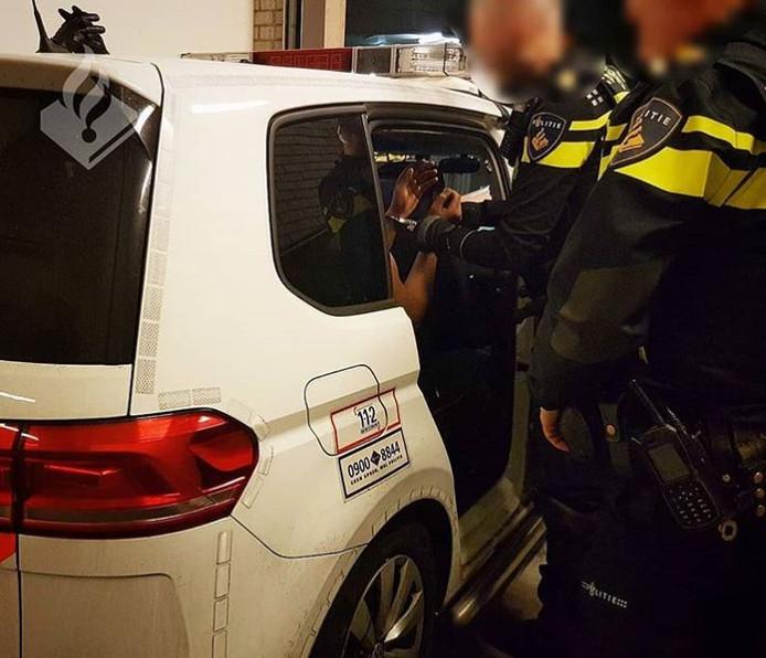 De arrestatie in Nijmegen.