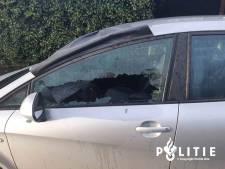 Nog geen spoor van daders die ruiten insloegen van 29 auto's in Ede