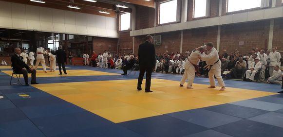 De G-judoka's werkten hun internationale tornooi af in Herenthout.