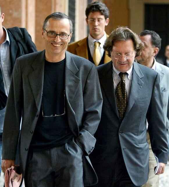 Michele Ferrari (links).