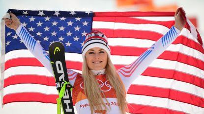 """Ski-diva Vonn na haar brons in de afdaling: """"Ik ga de Spelen heel erg missen"""""""