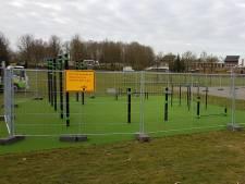 Calisthenicspark Mierlo en Cruyff Court Geldrop gesloten omdat het er druk was