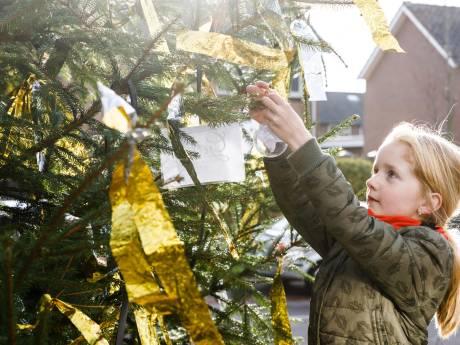 De 'engelen' van JY maken wensen waar met Kerstwensboom in Vollenhove