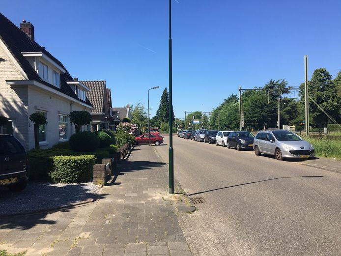 Dit deel van de Nicolaas van Eschstraat wordt een blauwe zone.